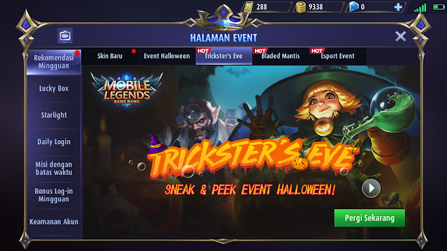Event Trick or Treat