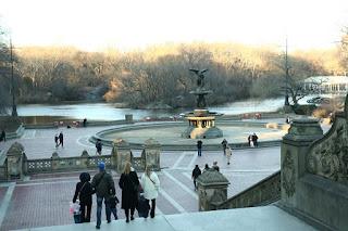 central park hiver