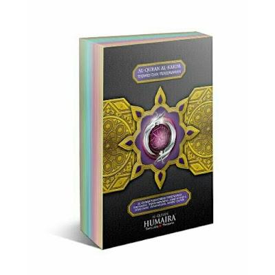 Al Quran Terjemahan Tafsir dan Tajwid Berwarna A6 Humaira Soft Cover