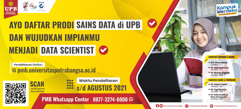 pendaftaran mahasiswa baru UPB