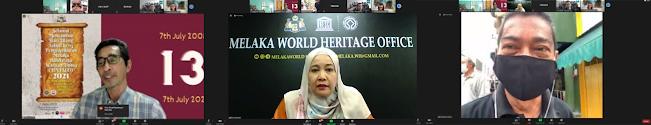 Ulang tahun ke-13 pengisytiharan Melaka sebagai Bandaraya Warisan Dunia (UNESCO)