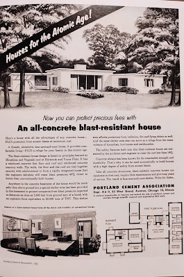 All-concrete blast-resistant home