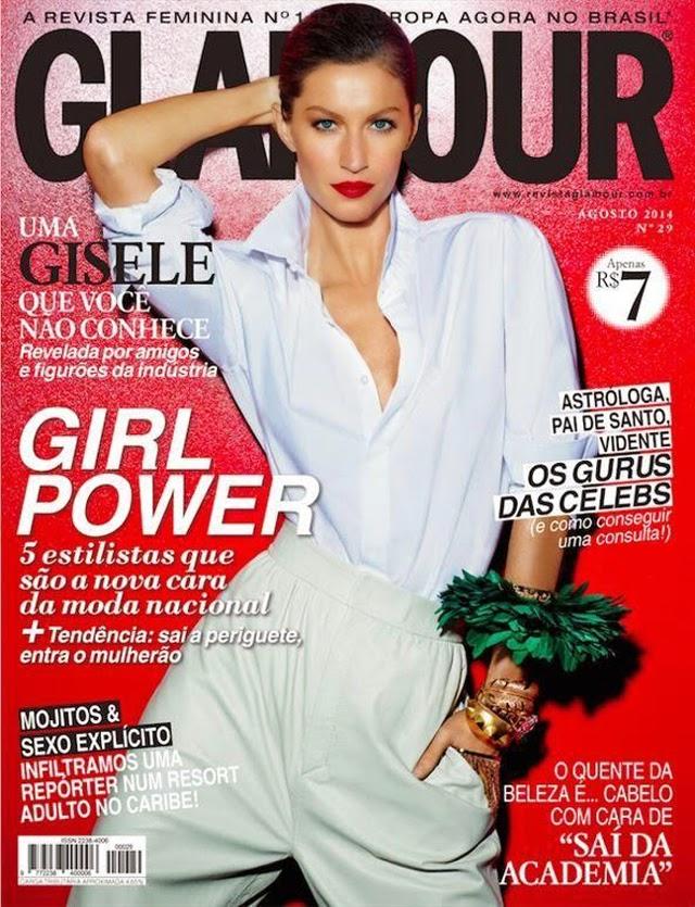 Gisele Glamour Brazil