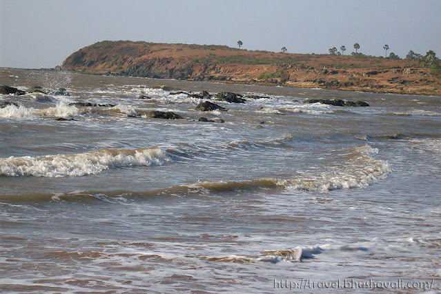 Romantic mumbai beach Manori