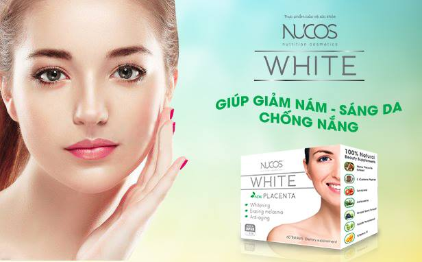 Nucos White Placenta viên uống trị nám hiệu quả nhất