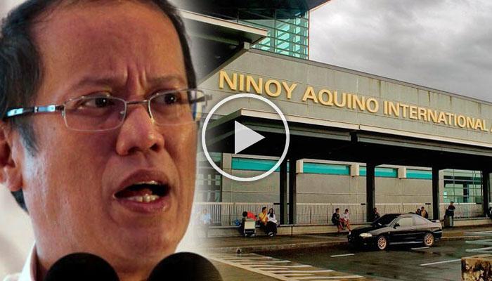 Noynoy Nagalit Dahil Papalitan Ang NAIA To Manila International Airport