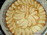 Tarta de manzana fácil horneada