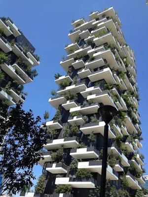 Milano-bosco verticale-architettura sostenibile- Stefano Boeri
