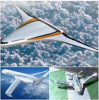 các mẫu thiết kế concept máy bay chở khách điện