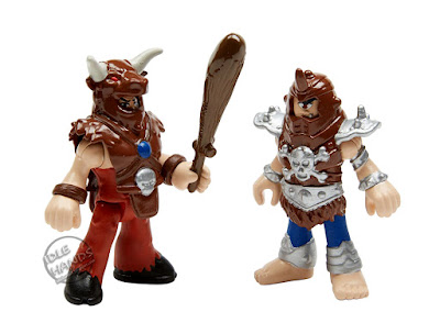 Mattel Imaginext Wonder Woman Toy Line Minotaur and Cyclops