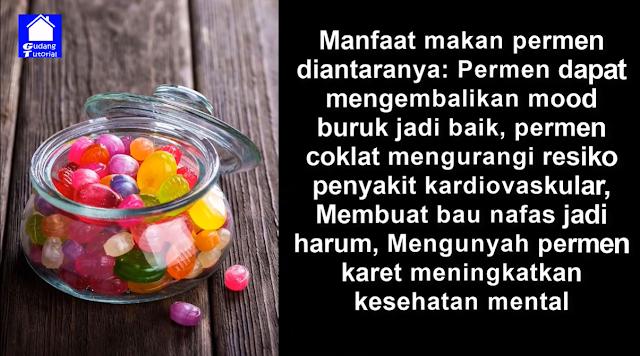 Manfaat Makan Permen