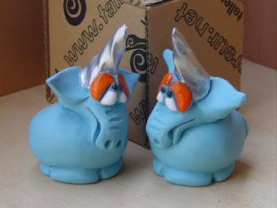 Unicornios azules