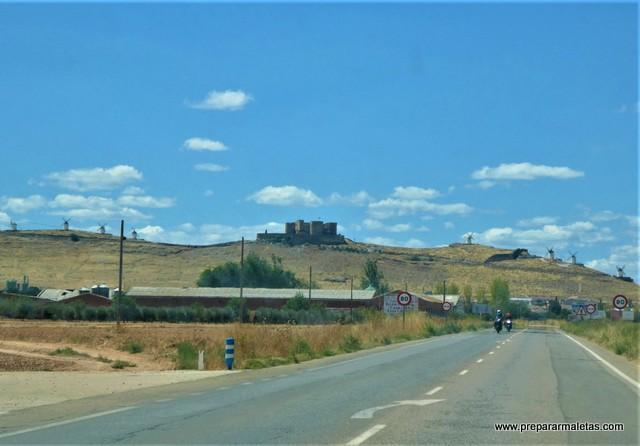 molinos de viento en Consuegra Toledo