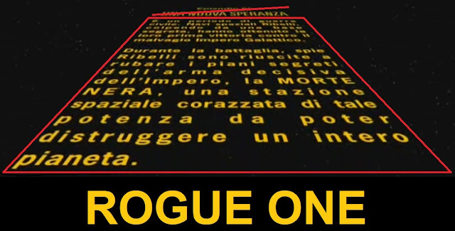 ROGUE ONE crawl - testo iniziale