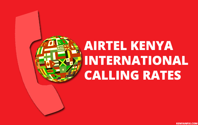 airtel international call rates