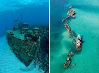 Kapal Tercanggih dan Megah Pada Zamannya Yang Masih Karam di Laut