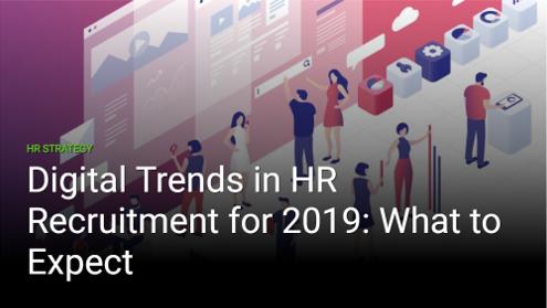 Цифровые тренды в рекрутинге 2019