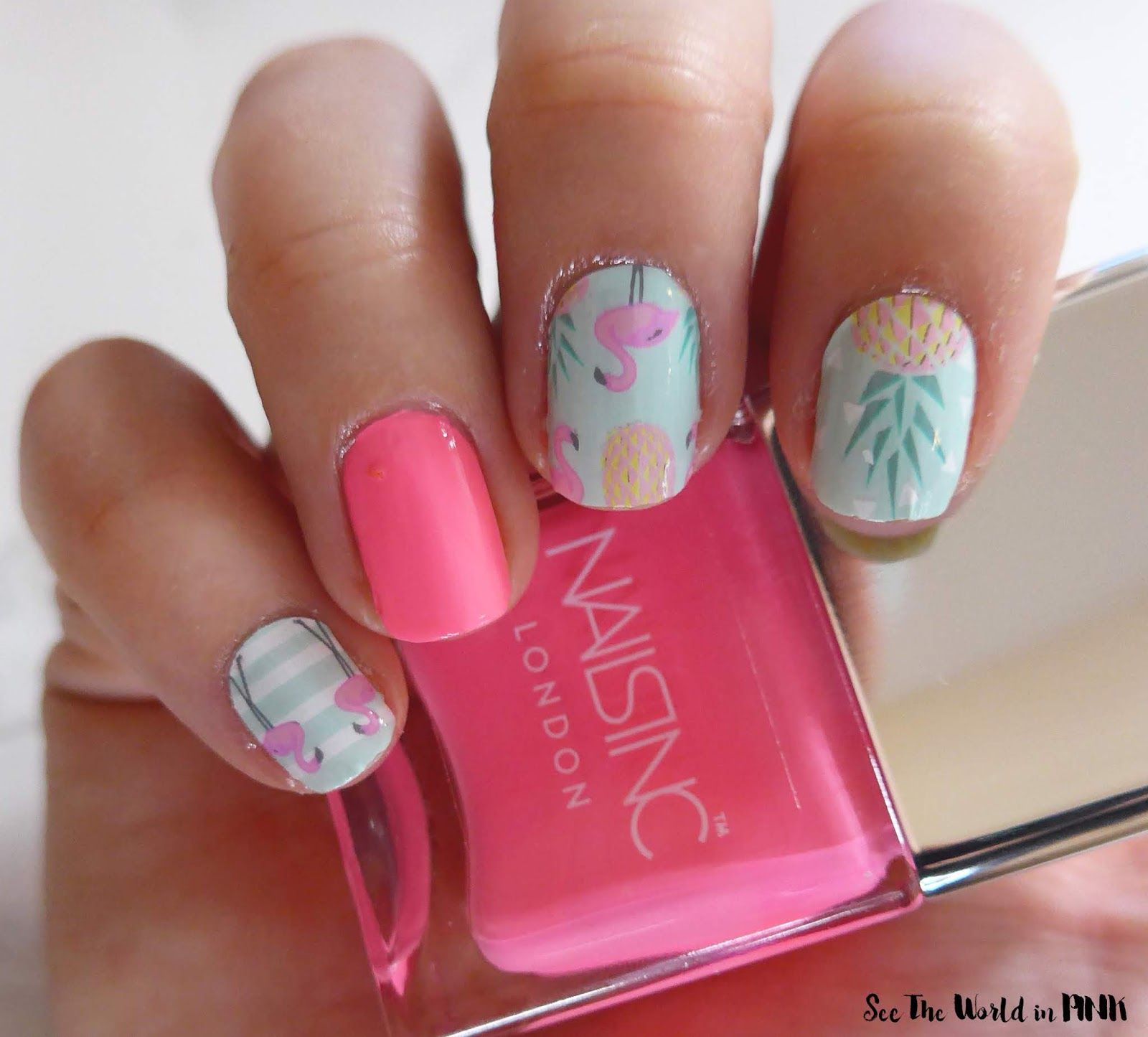 Manicure Monday - Glamingo Flamingo Nails