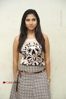 Actress Vanditha Stills in Short Dress at Kesava Movie Success Meet .COM 0096.JPG