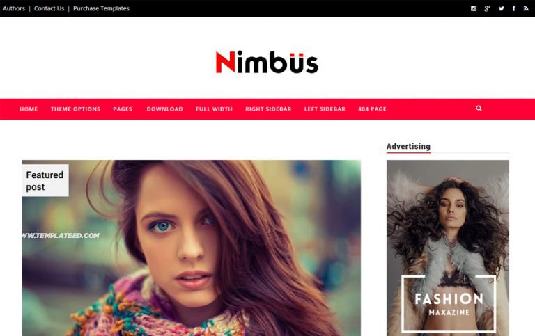 Nimbus Responsive Blogger Template