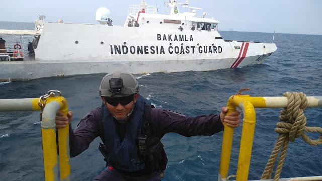 Bakamla RI Libatkan Unsur Zona Maritim Barat Latihan Bersama SEACAT 2019