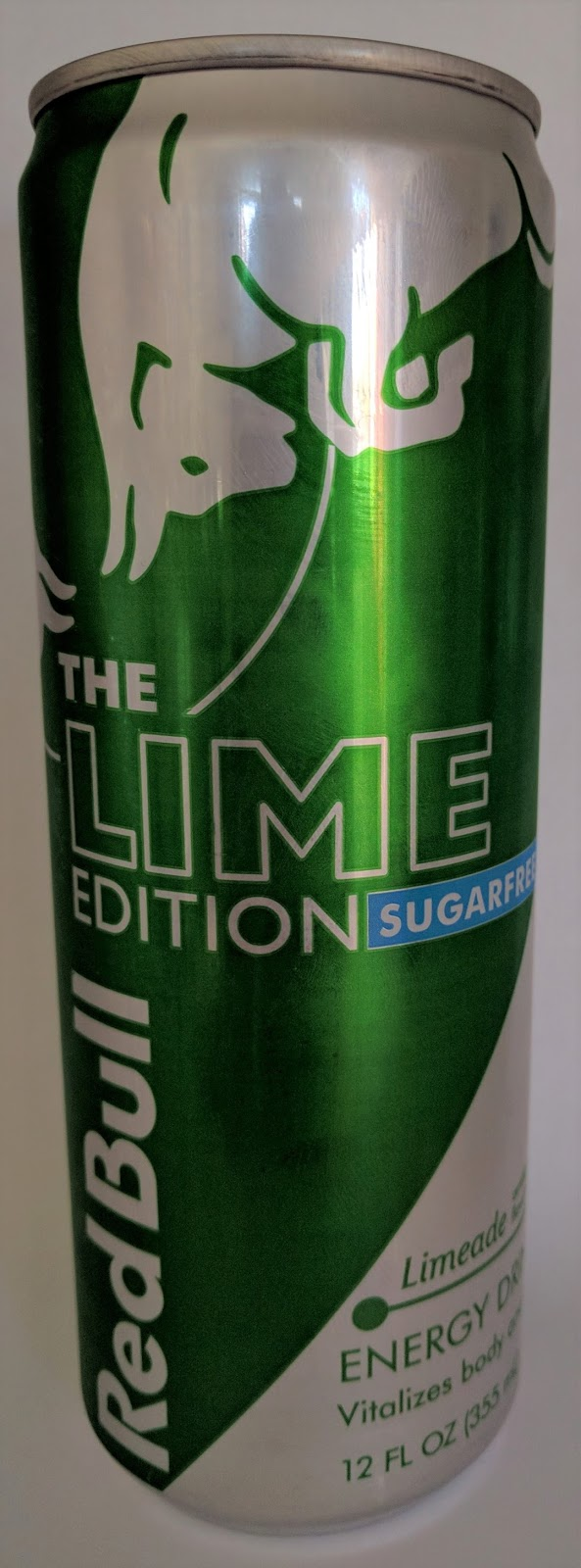 caffeine king red bull the lime edition sugar free energy drink review. Black Bedroom Furniture Sets. Home Design Ideas