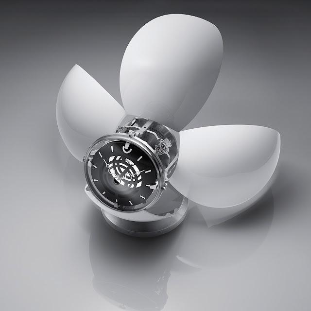 MB&F X L'Epée 1839 Orb table clock