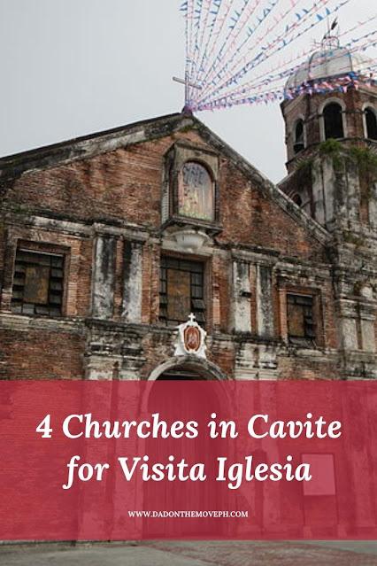 Churches in Cavite for Visita Iglesia