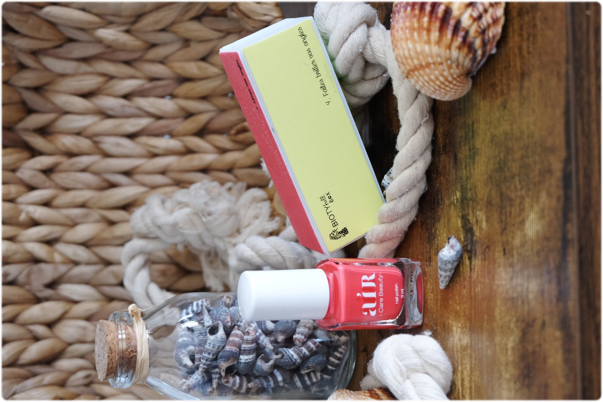 Biotyfull box juillet 2020 vernis corail
