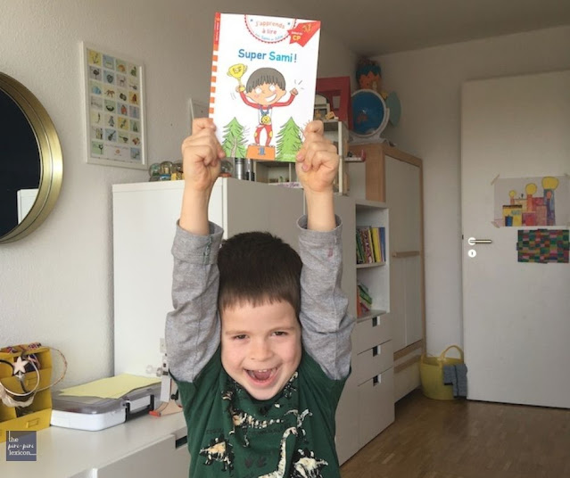 First reader book series in French