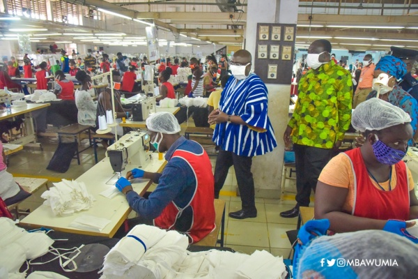 Local Production Of PPES A Demonstration Of Government's Commitment To Promote Local Industries- Veep Bawumia