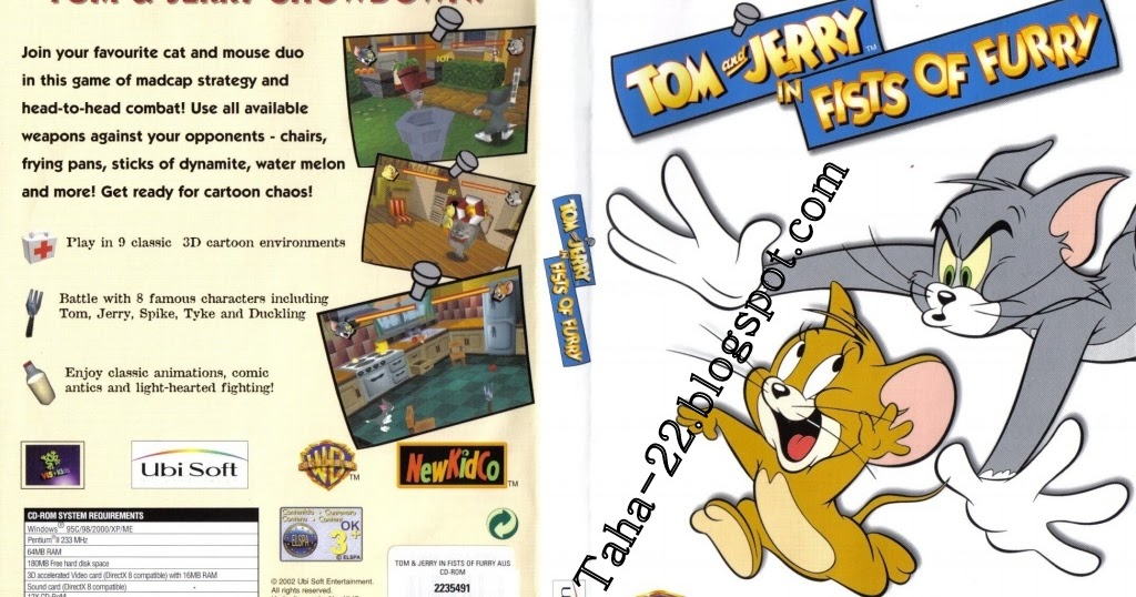 7fea76184937 100% Full Version Pc Games  Tom And Jerry Fists Of Furry (PC)