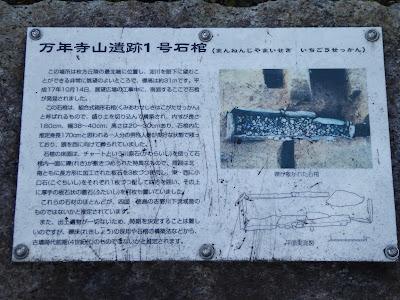 万年寺山遺跡1号石棺