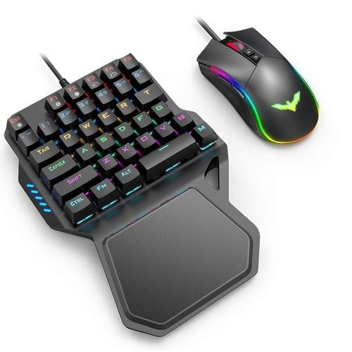Review Havit One Handed Gaming Keyboard and Mouse