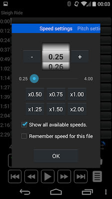 Music Speed Changer: Audipo