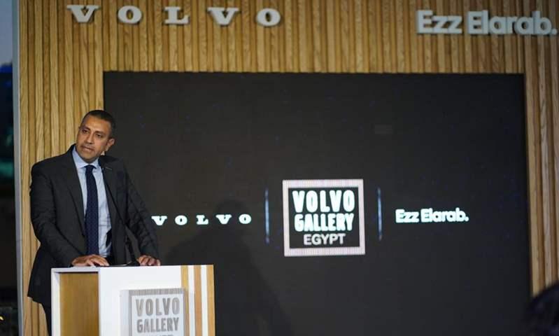 المهندس محمد عبد النور مدير عام فولفو بمجموعة عز العرب للسيارات