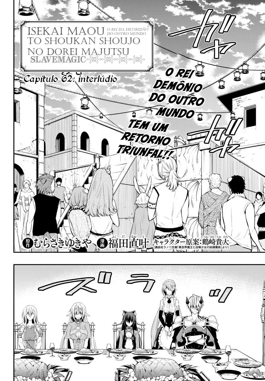 Isekai Maou to Shoukan Shoujo no Dorei Majutsu / How NOT To Summon a Demon Lord Mangá Online Capítulo 62 em Português PT-BR