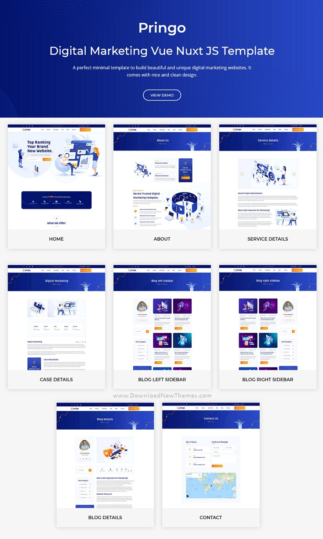 Digital Marketing Bootstrap Template