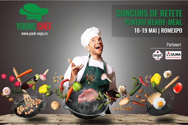 Young Chef, concurs pentru retete culinare ready meal