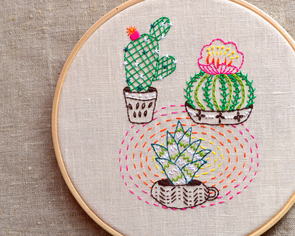 Na Nee Embroidery Pattern on Etsy