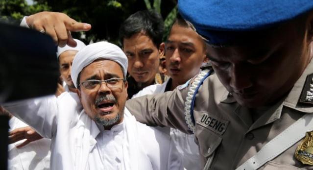 Resmi, Habib Rizieq Ditetapkan sebagai Tersangka Dugaan Penistaan Pancasila