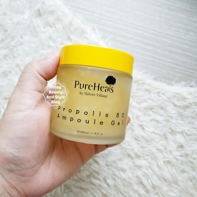 PureHeals Propolis Ampoule Gel Review Hydrating Cream for Sensitive Skin