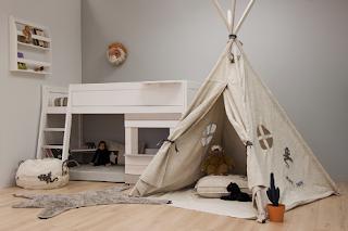 Tipi Tent Kinderkamer : Kidsgigant tent voor de kinderkamer