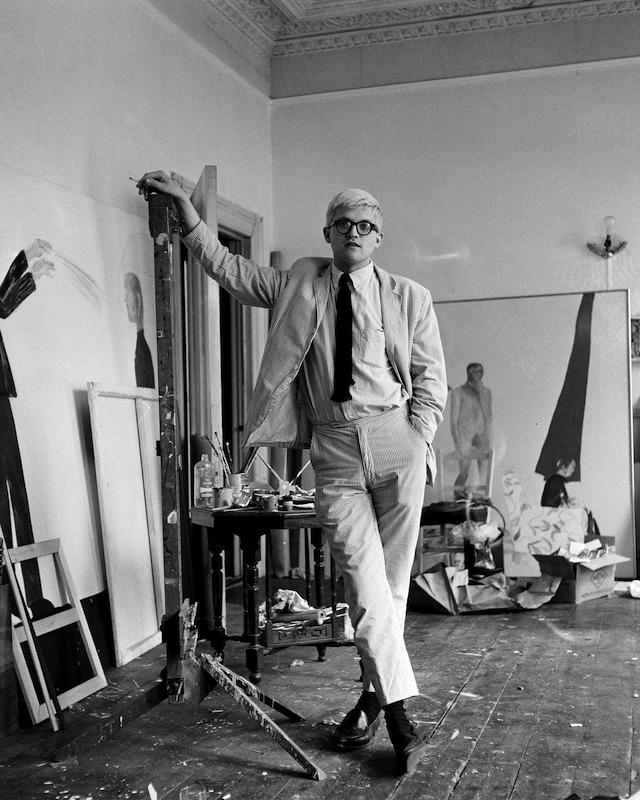 David Hockney seersucker