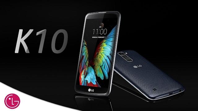 Le smartphone LG K10 surprend !
