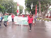 Singgah di NU Lamsel, Petani Sumut Nekat Jalan Kaki Temui Jokowi minta Keadilan