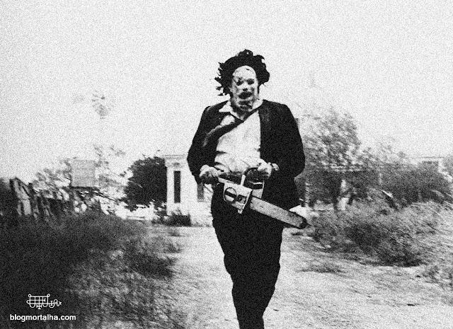 Cena do filme O Massacre da Serra Elétrica, de 1974.