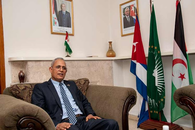 Omar Bulsan: ''La alternativa de nuestro pueblo es soberanía y paz o la guerra.''