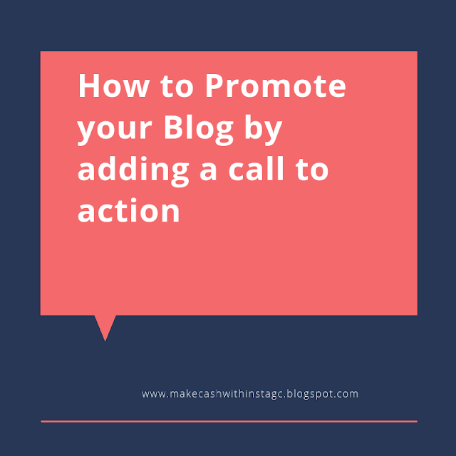 Ways to promote your Blog