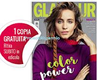 Logo Glamour : la tua copia gratuita ti aspetta in edicola